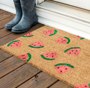 eHow_WatermelonDoormat